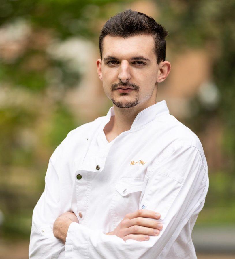 Junior Michael Weirich is the founder of the Vanderbilt Culinary Club. (Michael Weirich)