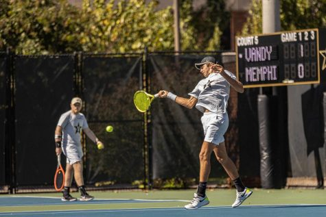 Men's Tennis: Vanderbilt sweeps Commodore Invitational in a strong finish to fall season