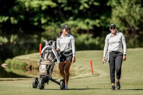 Vanderbilt womens golf competing