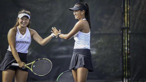 Vanderbilt tennis team at June Stewart Invitational