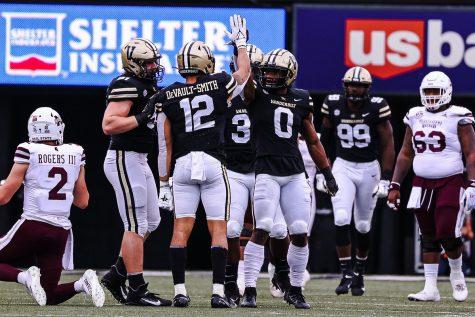 Vanderbilt against Mississippi State
