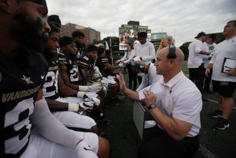 Vanderbilt huddled