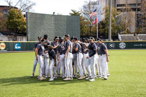 Vanderbilt competing in fall scrimmage