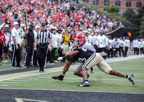 Vanderbilt against Georgia