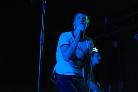 Live at the Basement East, Gus Dapperton was on Fire