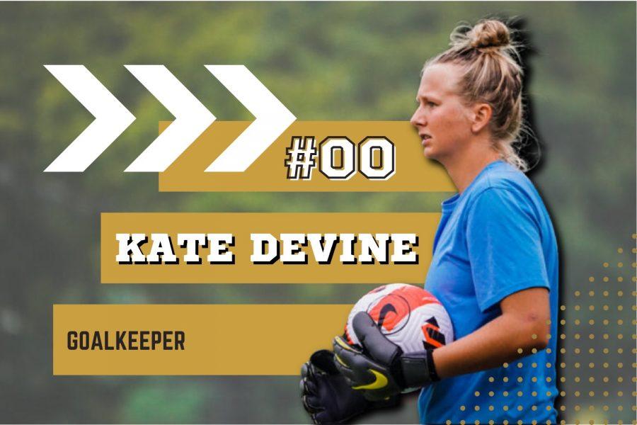 Sophomore Kate Devine has had an impressive start to the season
