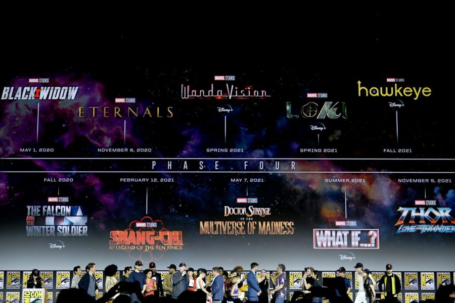 The original Phase Four release schedule seems like a distant dream after all of this years delays. (Kevin Winter/Getty Images)