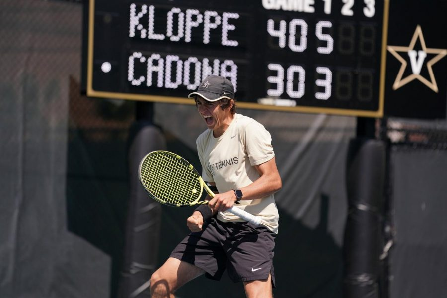 Junior Joubert Klopper led the way with five wins, two alongside doubles partner Connor Robb-Wilcox, as the Commodores came away with nine weekend victories at the Bulldog Invitational (Vanderbilt Athletics).