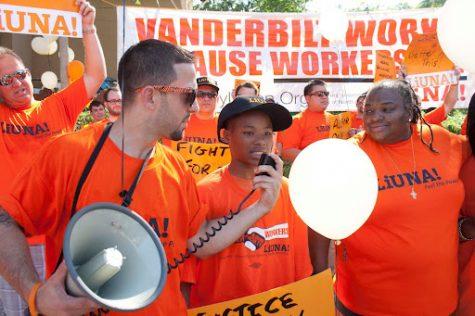 LiUNA Local 386 during a rally