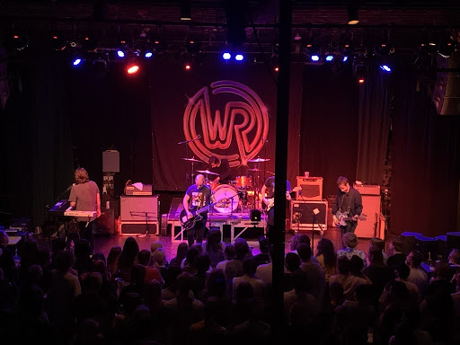 The stage at the White Reaper concert