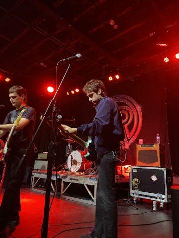 Guitarist Hunter Thompson on stage