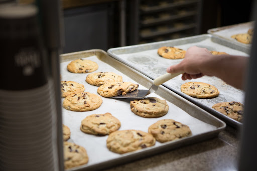 A tray of Rand cookies